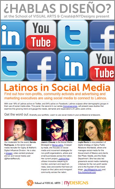 latinos in social media